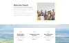 Free HTML5 Theme for Religious Site Website Template Big Screenshot