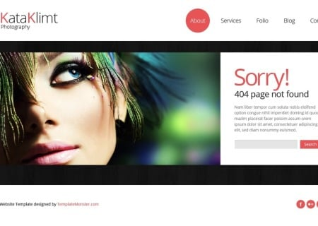 Bootstrap Free Responsive  - Photography