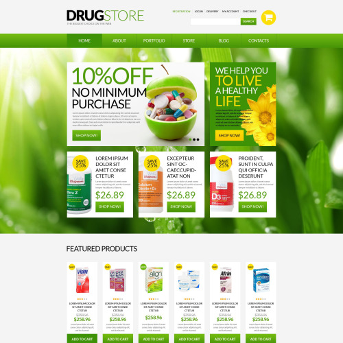 Drugstore - WooCommerce Drug Store Template