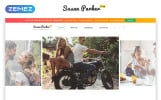 Free Bootstrap 4 HTML Template Website Template