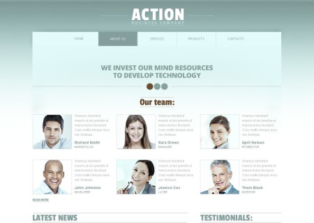 Free Business HTML5