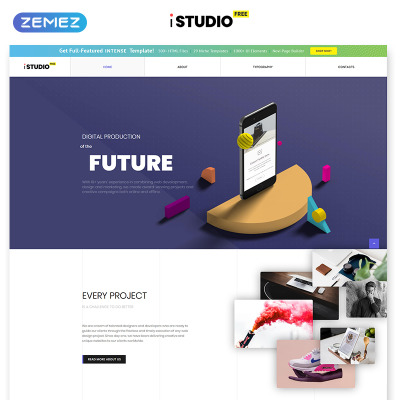 Free Website Templates | TemplateMonster