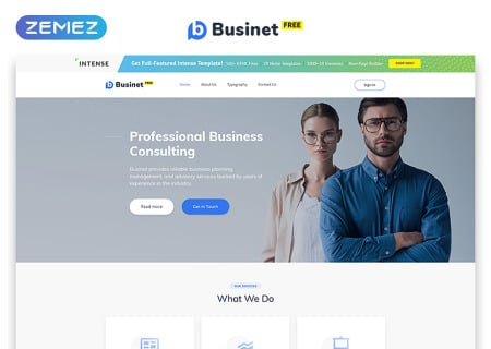 Free HTML5  for Business Site