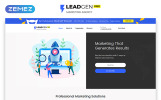 Free HTML5 Theme for Marketing Agency Website Template