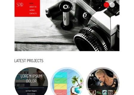 Free HTML5  for Portfolio