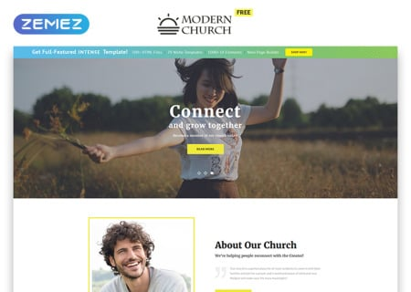 Free HTML5  for Religious Site
