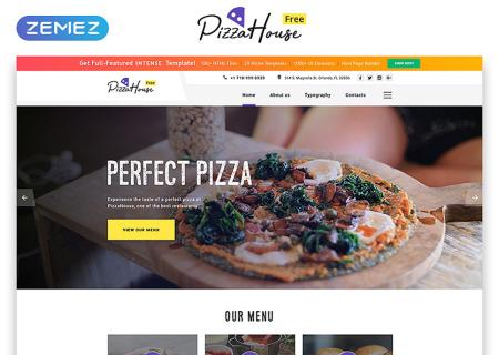 Free HTML5 Tmeme for Restaurant