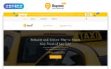 Free HTML5 Theme for Taxi Company Website Template