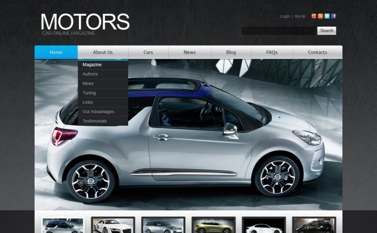 Free joomla 2. 5 template cars free joomla templates downloads.