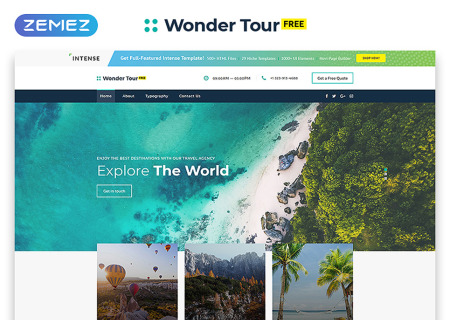 Free jQuery Travel