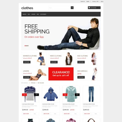 Best Free Prestashop Themes Templatemonster