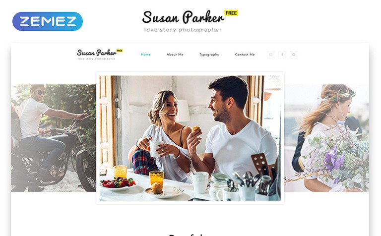 Free Responsive HTML Theme For Photo Site - Free html photography website templates