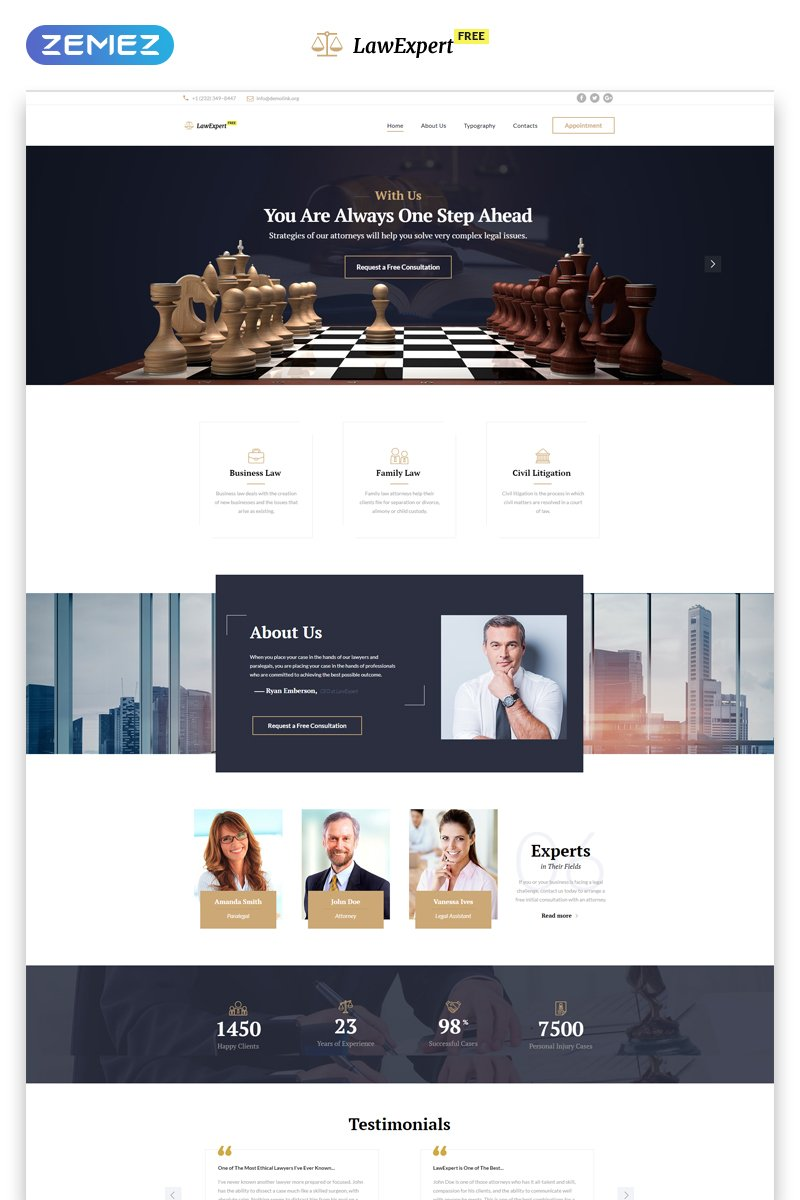 """Free Responsive JavaScript Animated Template"" Responsive Website template №51655"