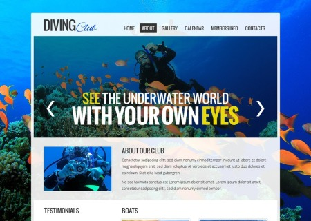 Free   - Diving Club
