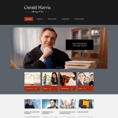 Free Law Firm Templates TemplateMonster - Law firm templates