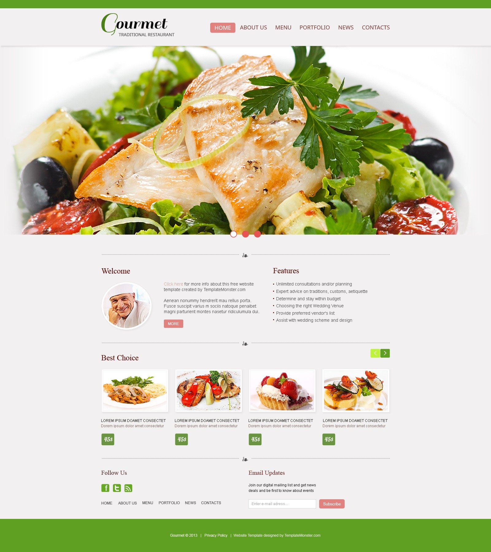 Restaurant Websites And Number Of Online Reviews