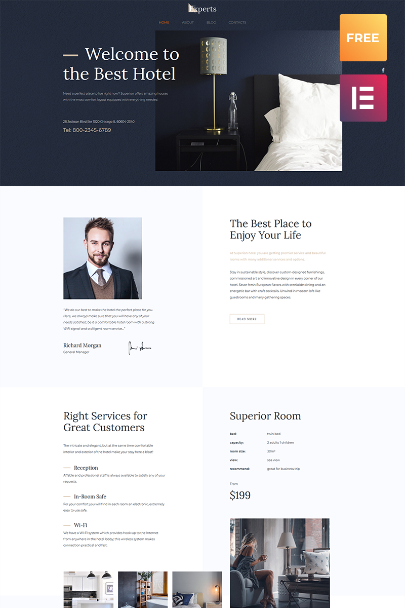 Free WordPress Theme Law - Website templates wordpress
