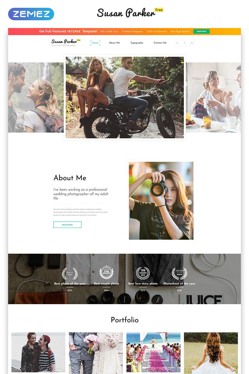 """Modello Siti Web Responsive #51656 """"Free Bootstrap 4 HTML Template"""""""