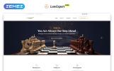 Reszponzív Ingyenes reszponzív JavaScript-animált sablon Weboldal sablon