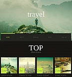Travel Moto CMS HTML  Template 51701