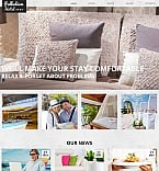 Hotels Moto CMS HTML  Template 51709