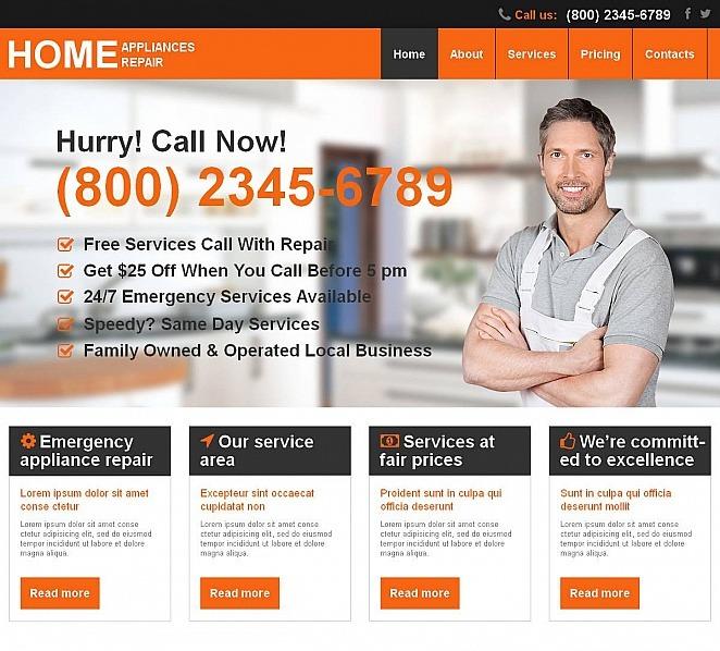 Premium Moto CMS HTML Template over Huis Remodeling  New Screenshots BIG