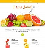 Food & Drink Moto CMS HTML  Template 51724