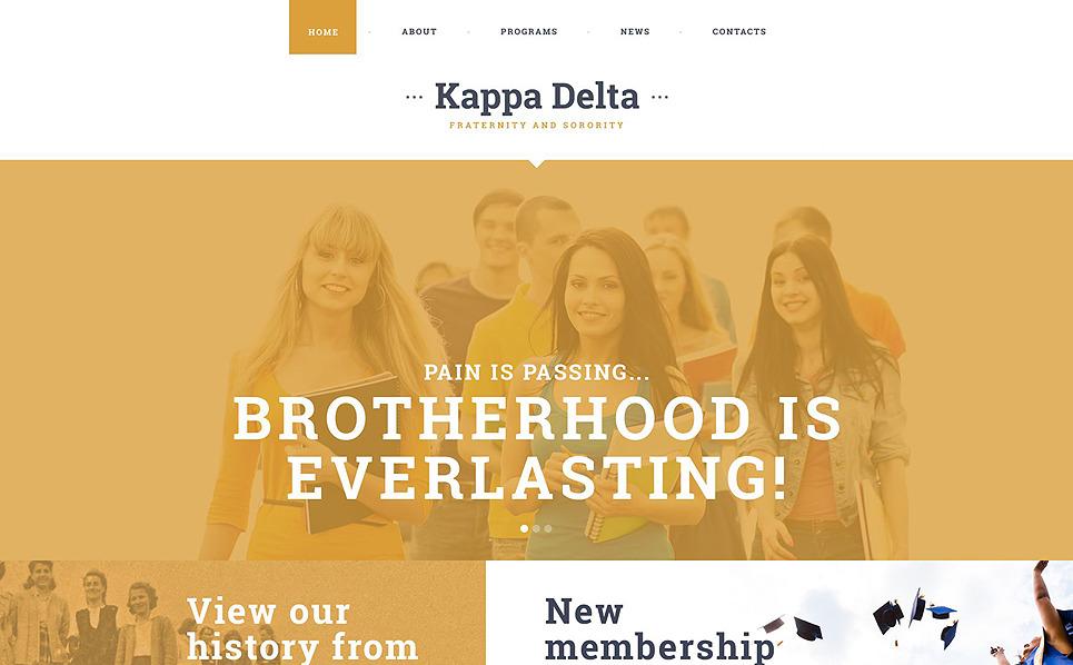 Responsive Website template over Universiteit  New Screenshots BIG