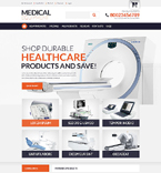 Medical ZenCart  Template 51733