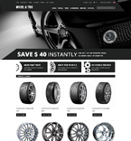 Cars ZenCart  Template 51735