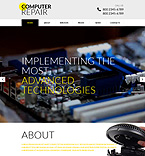 Computers Website  Template 51741
