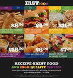 Cafe & Restaurant Website  Template 51742