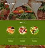 Cafe & Restaurant Joomla  Template 51744