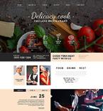 Cafe & Restaurant Joomla  Template 51745
