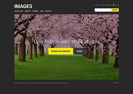 ADOBE Photoshop Template 51747 Home Page Screenshot