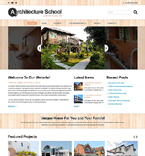 Architecture Joomla  Template 51756