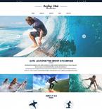 Sport Website  Template 51760