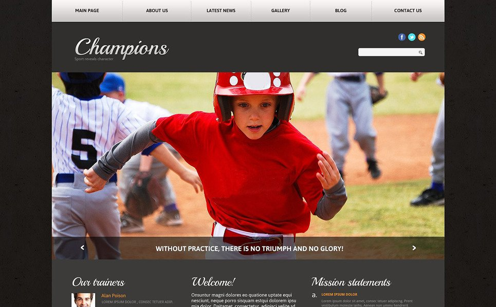 Template Joomla Flexível para Sites de Noticiais de Esportes №51762 New Screenshots BIG