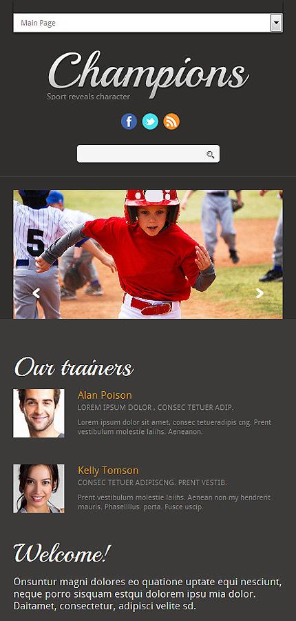 Joomla Theme/Template 51762 Main Page Screenshot