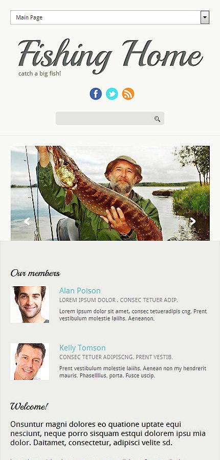 Joomla Theme/Template 51764 Main Page Screenshot