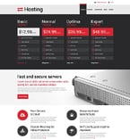 Web Hosting Drupal  Template 51768