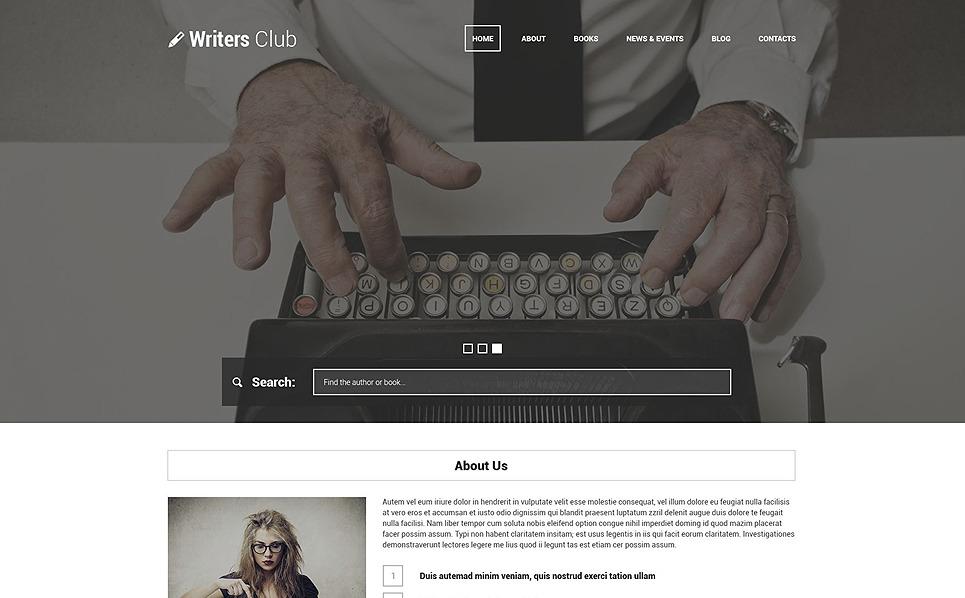 Responzivní WordPress motiv na téma Knihy New Screenshots BIG