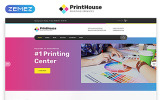 Responsivt Print House - Print Shop Multipage Modern HTML Hemsidemall