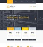 Web Hosting Website  Template 51783