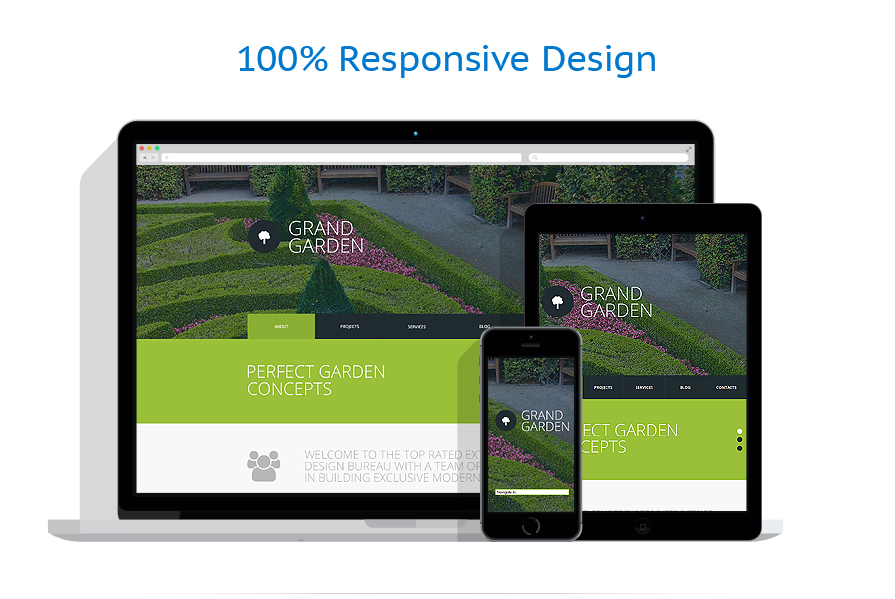 Exterior design website template 51784 for Exterior design website templates