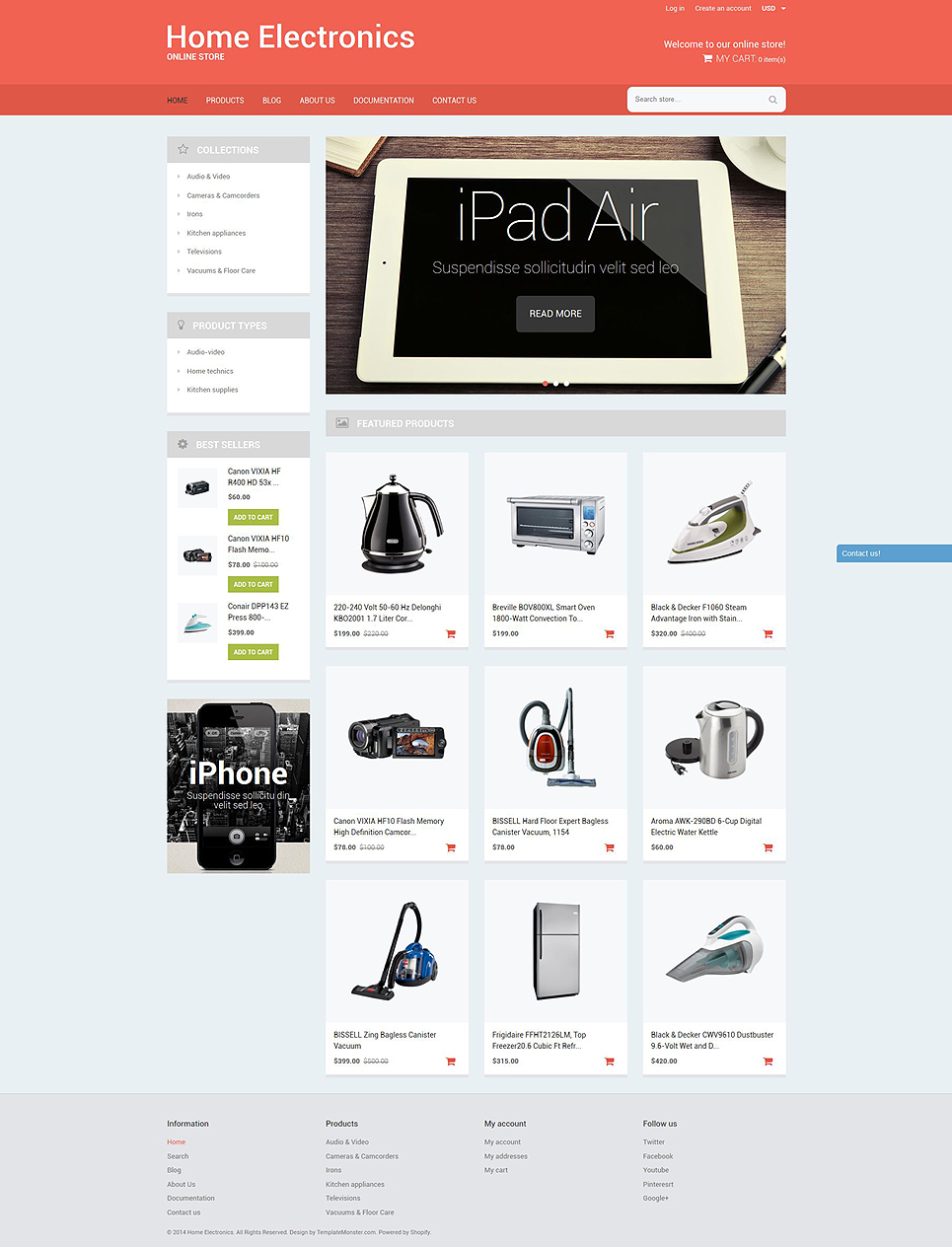 Home office tech gear 51786 by zemez shopify themes for Home office tech