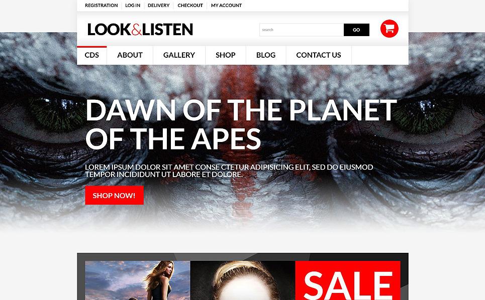 Адаптивний WooCommerce шаблон на тему відеостудія New Screenshots BIG