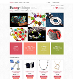 Jewelry VirtueMart  Template 51796