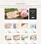Wedding OpenCart  Template 51799