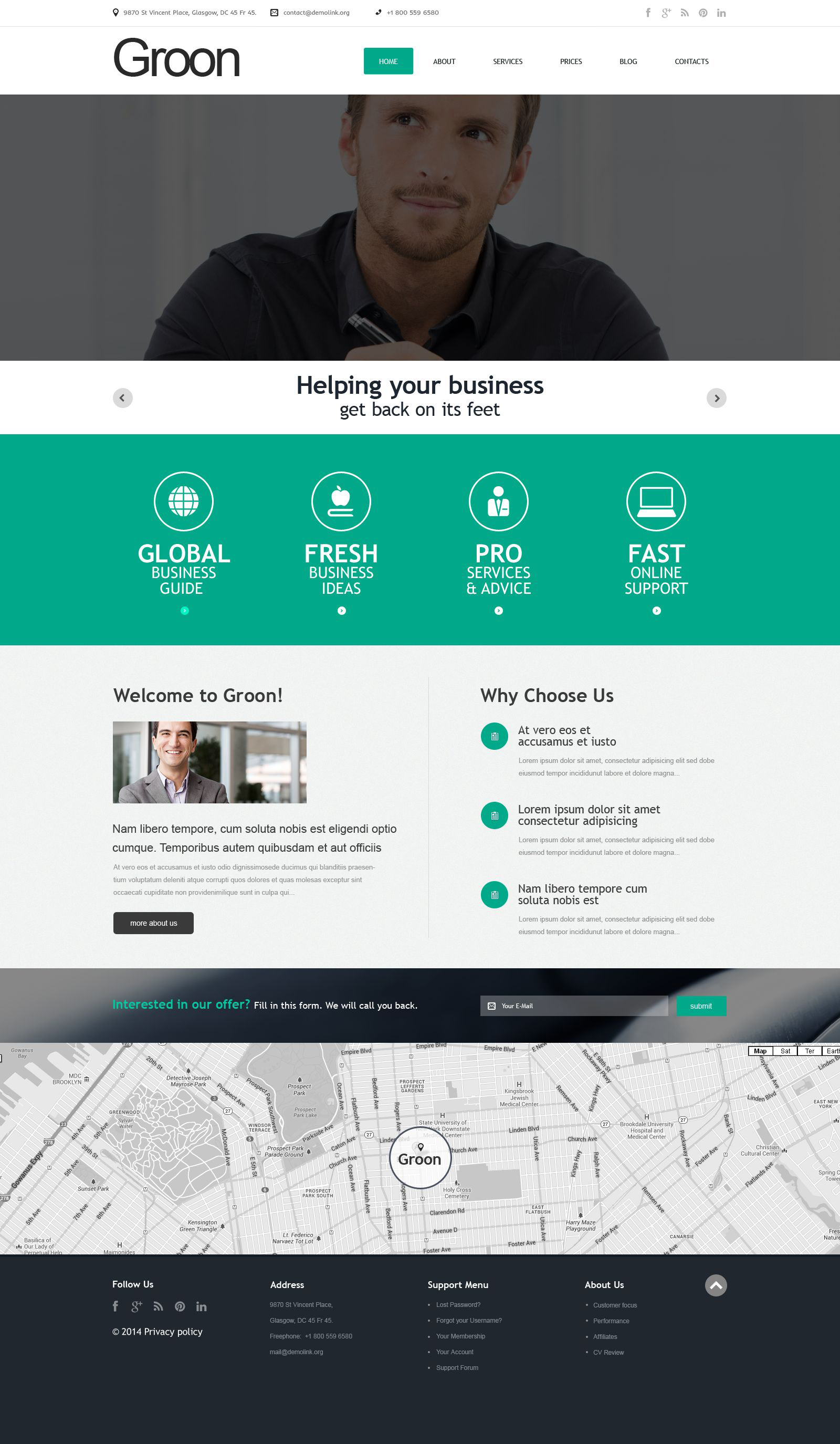 Accountants WordPress Themes